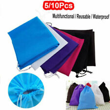 Lots Waterproof Non-woven Shoes Bag Travel Sport Storage Pouch Drawstring Bags