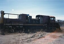 Z127 RP 1990ish MC MAINE CENTRAL RAILROAD ENGINE #???? SCRAP