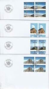 Liechtenstein 2009 FDC 1514-1517 blok - Alpenvereniging 100 Jaar