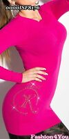 Sexy Jumper Dress Womens Casual Long Ladies Sweater One Size 6,8,10,12 UK New