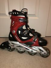 Roller Derby Pro Line 900 Men's Inline Skates Elite Series Men's 10 Red Black