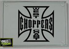 2 pegatinas de vinilo WEST COAST CHOPPERS ,no 362
