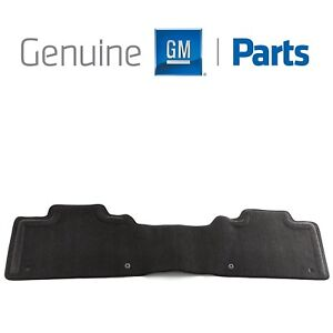 For Chevrolet Silverado GMC Yukon Rear Molded Black Floor Mat GM Genuine OEM