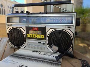 Radio Cassette JVC RC-545L Boombox Ghettoblaster