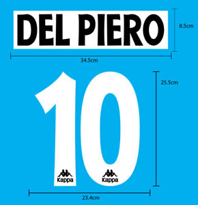 JUVENTUS FOOTBALL CLUB 1996-97 Home PU NAME NUMBERING PRINT EXCELLENT QUALITY