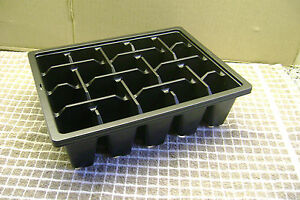 20 CELL 1/2 SIZE PLASTIC SEED TRAY INSERTS CHOOSE FROM 5 SEED TRAY INSERTS UP TO
