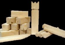 KUBB - BEX - Holzspiel