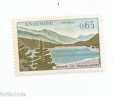 French Andorra Stamp Scott #151 1961 Encamp Lac D'Engolasters 65c Mint   208