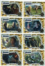 Avengers Endgame & Captain Marvel Tier 3 Complete 10 Card Base Gold Set (#81-90)