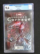 CGC 9.6 Superior Carnage #1 Checchetto Variant  FREE SHIPPING