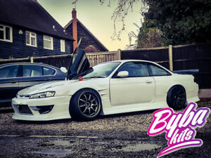 Dmax Style Side skirts fit to Nissan 200sx S14a S14 D max