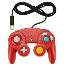 RED Shock Game Controller Pad for Nintendo Gamecube GC Wii NEW