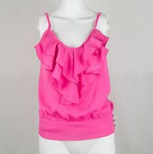 Charlotte Russe Hot Pink Sleeveless Top Size Extra Small