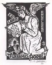 Ex Libris René Louis Becker : P. Urbanus Hodel