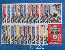 MATCH ATTAX CHAMPIONSHIP 2012/2013 BASE CARDS X 5 TO COMPLETE YOUR COLLECTION