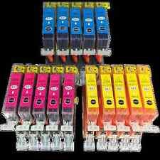 15 Tinte für Canon PIXMA Drucker IP3600 IP4600 IP4700 MP550 MP560 MP 640 540 620