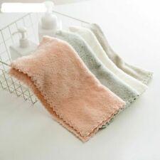 Small Microfiber Face Towel Super Absorbent Bathroom Towels For Adults 30x30cm