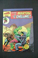 5.5 Fn- Fine- Hulk # 182 French Euro Variant Wp Yop 1980
