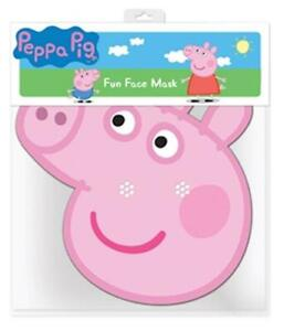 Peppa Pig Party Card Face Mask