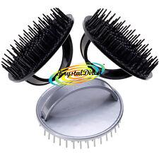 3x Denman D6 Be Bop Hair Brush Gentle Shampoo/Scalp Massage
