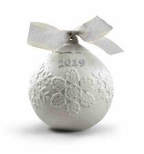 Lladro 2019 Christmas Ball #18443 Brand New In Box Annual Ltd Free Shipping Save