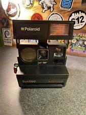 Vintage Polaroid Sun 660 Autofocus Camera