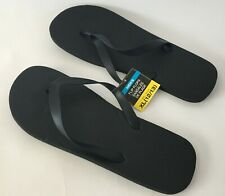 Black Mens Flip Flops Sandals Shoes Size 12 US C1 BRAND NEW