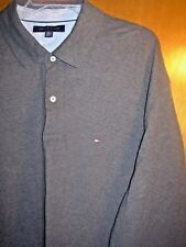 ****2XL/XXL TOMMY HILFIGER SPORT CREW RUGBY PullOver Dress/Casual Polo Shirt