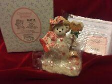 Enesco Cherished Teddies Delight I Will Melt Your Heart Valentine Snow Bear Box