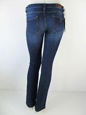 Guess Denim Jeans Hose Pants Starlet Cigarette Low Rise W24A05 Blau Neu 24