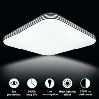 18W LED Ceiling Light Lamp Square Panel Down Lights Living Room Bedroom Kitchen