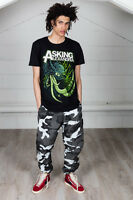 Official Asking Alexandria Tusks Unisex T-Shirt Reckless And Relentless The Blac