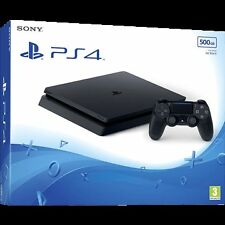 BRAND NEW LATEST SONY PLAYSTATION 4 PS4 SLIM CUH-2016A 500GB CONSOLE