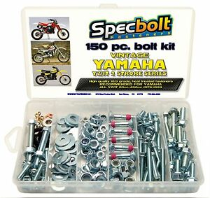 150pc YAMAHA YZ IT 125 175 200 250 360 400 425 465 490 Plastics Engine Bolt Kit