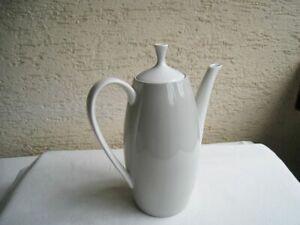 Arzberg Teekanne Form 2025 in grau,Heinrich Löffelhardt Kaffeekanne Mailand 1957