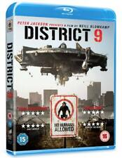 District 9 [2009] [Region Free]    Blu-Ray   Brand new and sealed