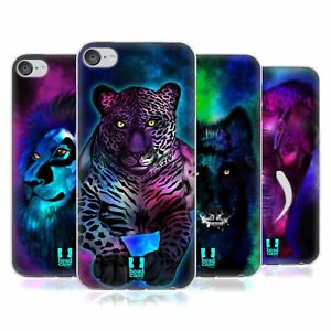 HEAD CASE DESIGNS GLOW SOFT GEL CASE FOR APPLE iPOD TOUCH MP3