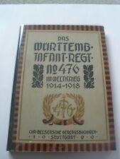 Regimentsgeschichte Regimental History - Wurt Infantry Regiment 476