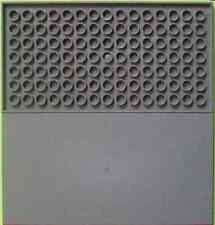 LEGO - Tile 8 x 16 with Bottom Tubes - Dark Bluish Gray