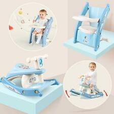 Baby Feeding Chair Seat Infant Dining Table Rocking Horse Toddler Riding Rocker