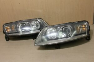 05-08 A6 S6 LIGHT HEADLIGHT HID XENON ASSEMBLY HID AFS ADAPTIVE PAIR SET BOTH