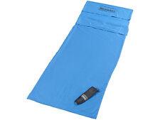 Semptec Hütten-Schlafsack aus Mikrofaser, Rechteckform Trekking Sommer Decke