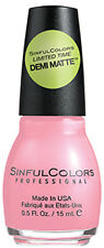 SINFUL COLORS Nail Polish SCHOOLGOALS Back To School COLLECTION New *YOU CHOOSE*