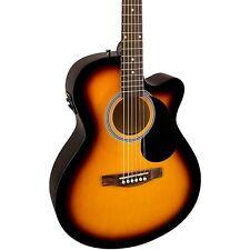 Fender FA-135CE Cutaway Concert Acoustic-Electric Guitar 3 Color Sunburst