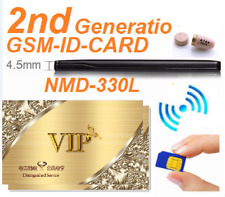EDIMAEG spy Invisible Wireless Earphone with NMD-330L VIP GSM Card Box full sets