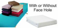 Toweling Couch Covers For Massage Table Beds - WITHOUT FACE HOLE Various Colours