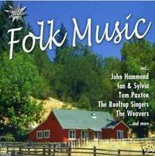 Folk Music - CD NEU- Judy Collins The Dillards John Hammond Odetta Weavers