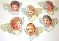 6 ANGEL BABIES Christmas ORNAMENT s Mint/Factory Sealed B. Shackman Co.