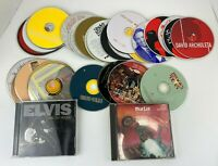 30 Pack Random CD Assorted Lot Country Rock Brooks Dunn Elvis Alabama Meatloaf