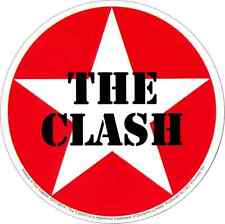 15960 The Clash Red & White Star Punk Rock Joe Strummer Die Cut Sticker / Decal